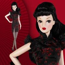 Poupées Cheongsam 30cm, Cool, Style chinois, Collection en édition limitée, corps mobile, avec vêtements, jouet poupée féminine à la mode, Collection 1/6