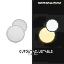 1 шт светодиодный вниз светильник для потолка и стен квадратных