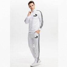 2020 Neue Marke Kleidung Männer der Pullover Baumwolle Trainings Hoodie Zwei Stücke + Hosen Sport Shirts Herbst Winter