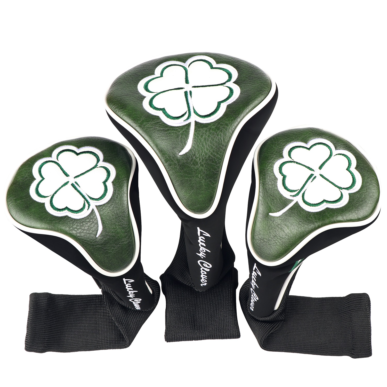 Golf Club #1 #3 #5 Wood Headcovers
