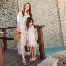 Mother Daughter Lace Wedding Dress Prom Normal Clothing Momm