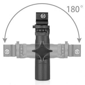 Image 5 - RISE Dual Flash support chaussure chaude Speedlight support porte parapluie support de lumière support 1/4 pouces à 3/8 pouces Compatible avec