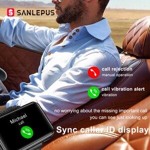 Image 2 - 2021 NEW SANLEPUS Smart Watch Men Women Smartwatch With Wireless Headphones Bluetooth Headphones Earbuds Sport Fitness Bracelet