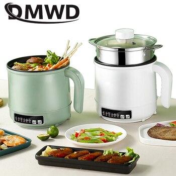 220V/110V MultiCooker Electric Skillet 1/2 Layer Stainless Steel Rice Cooker Hotpot Noodles Soup Pot Food Steamer Heating Pan 1