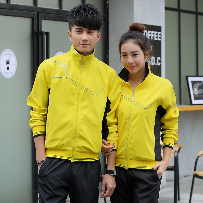 333 Men's WOMEN'S Sportswear Spring And Autumn Long-sleeved Coat Middle And High School Students Business Attire School Uniform