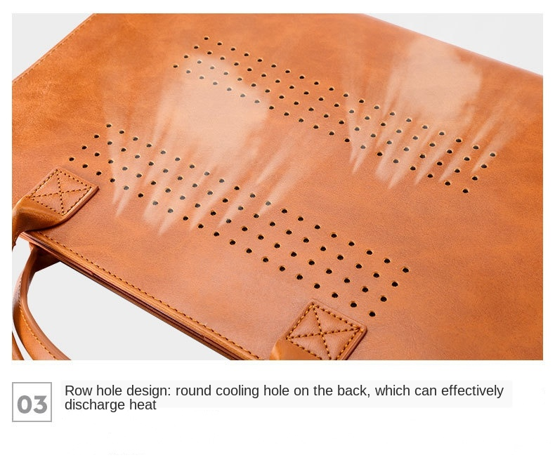 MacBook Leather Stand Case  3