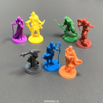 7pcs Monsters Heroes Miniatures Board Game Role Playing Figures Model Toys 3pcs set heroes miniatures board game figures role playing resin model boy toys gift