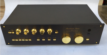 FM-268C Fully Balanced Pre-All Aluminum Black Power Amplifier Case (446 * 262 * 110)