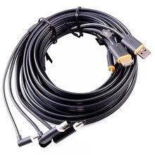 3 in 1 HDMI USB 케이블 데이터 라인 HTC Vive VR 헤드셋 가상 현실 액세서리 교체 VR 케이블