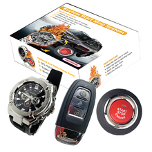 Car-Alarm Cardot Entry-System Remote-Engine-Start-Stop Push-Button Smart-Keyless