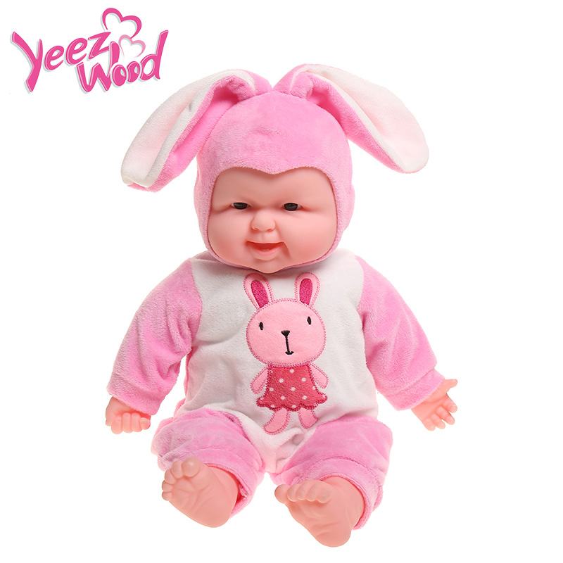stuffed animals plush toys Pacify Baby Doll peluches de animales Doll reallife animal toys for children