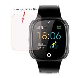 Filme protetor de tela de vidro hd para df25 df25g df25w df27 df31g df33 hw11 e7 crianças do bebê relógio inteligente smartwatch acessórios