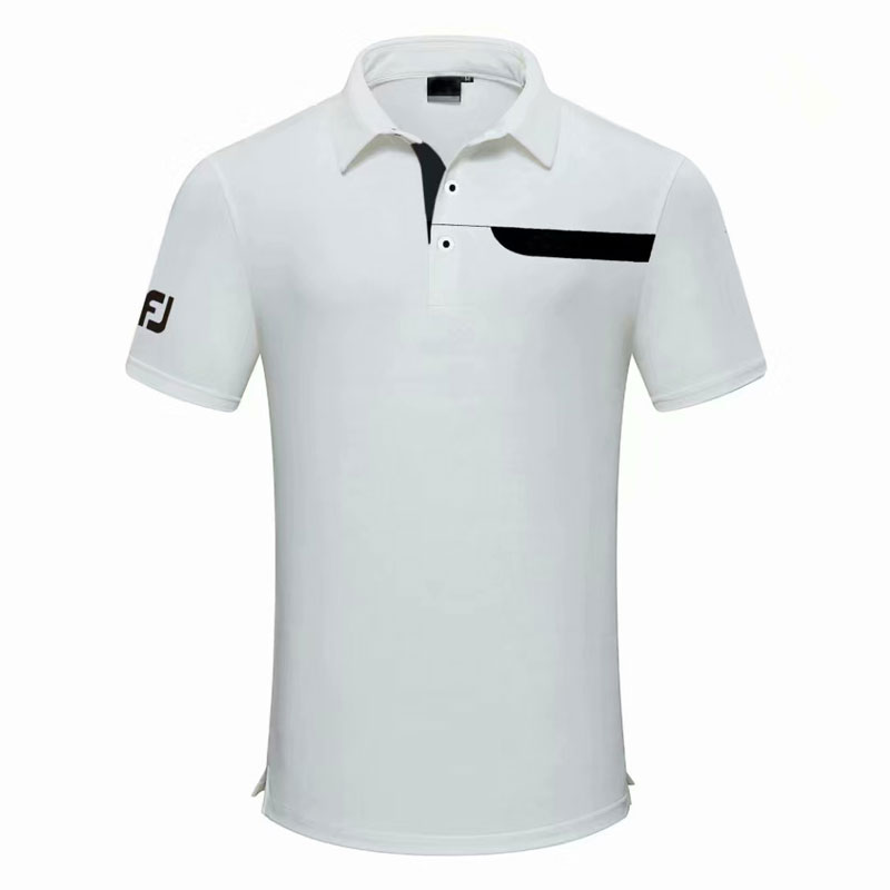 New Men Golf Shirts Outdoor Sportswear Short Sleeve Men Golf Polos Shirt Badminton Running Soccer Jerseys Shirts