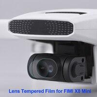 Kamera Objektiv Protector Film für FIMI X8 Mini Drone Anti-Scratch-HD Gehärtetem Glas Objektiv Film Wache Zubehör