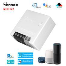 1 20 pces sonoff minir2 wi fi inteligente interruptor de atualização temporizador interruptores sem fio automação residencial inteligente para ewelink alexa google casa