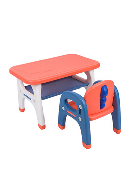 Kindergarten Tables And Chairs Children Toys Small Tables Chairs Set Plastic Learning Home Game Tables Baby Dining Tables Kids