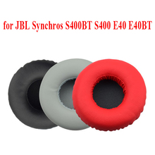 цена на Soft Foam Ear Pads Earpas Cushions Cover for JBL Synchros S400BT S400 E40 E40BT Headphones Headset High Quality
