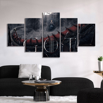 A Song of Ice and Fire Daenerys Targaryen Poster Paintings GOT Game of Thrones Movie Poster Artwork Canvas Painting Wall Art