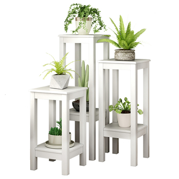 Landing Type Woodiness Flower Airs Indoor A Living Room Ground Multi-storey Green Luo Chlorophytum Balcony Flowerpot Shelves