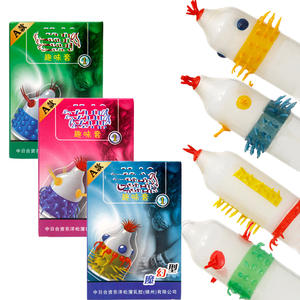 6PCS Condoms for men High Sensation Class Female G-spot Vaginal Stimulation Safer Contraception