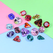 mix color size 10-15mm strass Rhinestones For Needlework Shining Stones And Crystals For clothes nail art decorations Jewelry