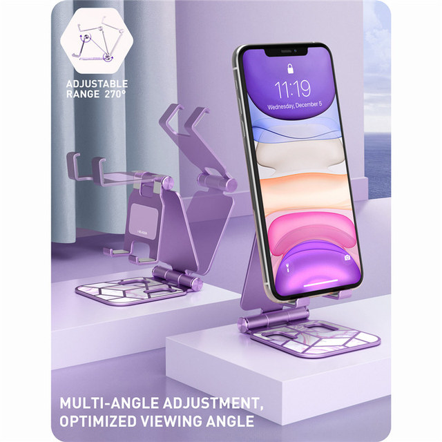 Adjustable Cell Phone Stand Holder Phone Dock Multi Angle Compatible with Smart Phone For iPhone For Android Smartphone 5