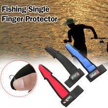 Высокое качество один палец один рыболовные перчатки морской полюс бросок защитный чехол рыболовные лещи поставки протектор
