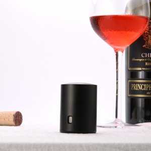 Image 4 - Youpin daire sevinç şarap stoper vakum bellek şarap Stopper elektrikli stoper şarap mantarları zincir Crand daire sevinç