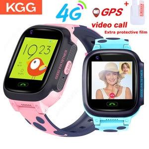Image 1 - Y95 4G 어린이 스마트 시계 IP67 GPS 와이파이 추적기 warerproof smartwatch 카메라 비디오 통화 시계 아기 시계 smartwatch PK A36E K22