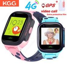 Y95 4G ילדים smart watch IP67 GPS WIFI גשש warerproof smartwatch מצלמה שיחת וידאו שעון תינוק שעון smartwatch pk A36E k22