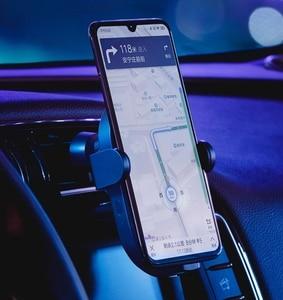 Image 5 - Беспроводное Автомобильное зарядное устройство Xiaomi Mijia, 20 Вт Max Qi электрическое автоматическое зажимное кольцо 2.5D со стеклянным кольцом для Mi 9 MIX 2S iPhone X XS MAX