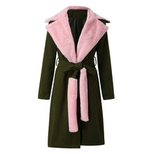 Winter Warm Fashion Thicken Coat with Collar