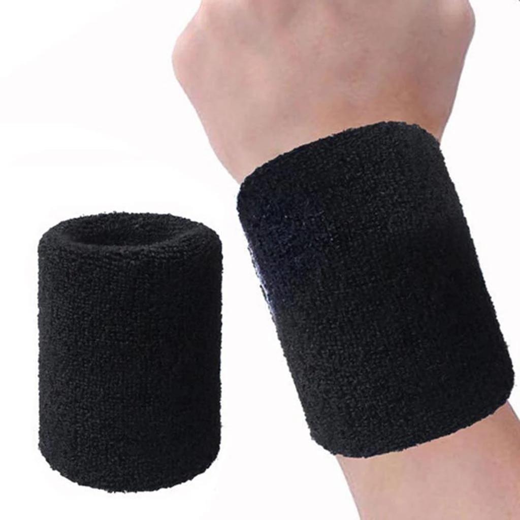 Sporting Goods Sweat Band Wrap Bandage Support Wristband Sport Sweatband  Wrist Protector Fitness, Running & Yoga
