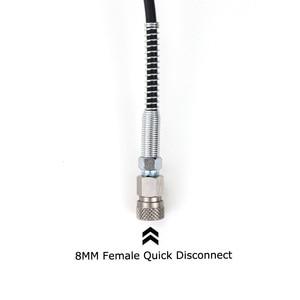 Image 5 - חדש פיינטבול אוויר אקדח אוויר PCP רובה נירוסטה דין מילוי טעינת מתאם צינור HPA גדול בלון גז כדי קטן צילינדר