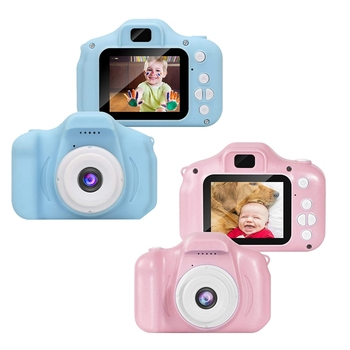 Girl Toys Gifts Kids Camera Digital for Birthday Holiday Present Camcorder 2 Inch IPS Sn for Children Toddler