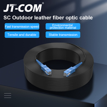 SC UPC to SC UPC Fiber Optic Drop Cable Single Mode Simplex 2.0mm Outdoor Fiber Optic Patch Cord Optical Patch Cable