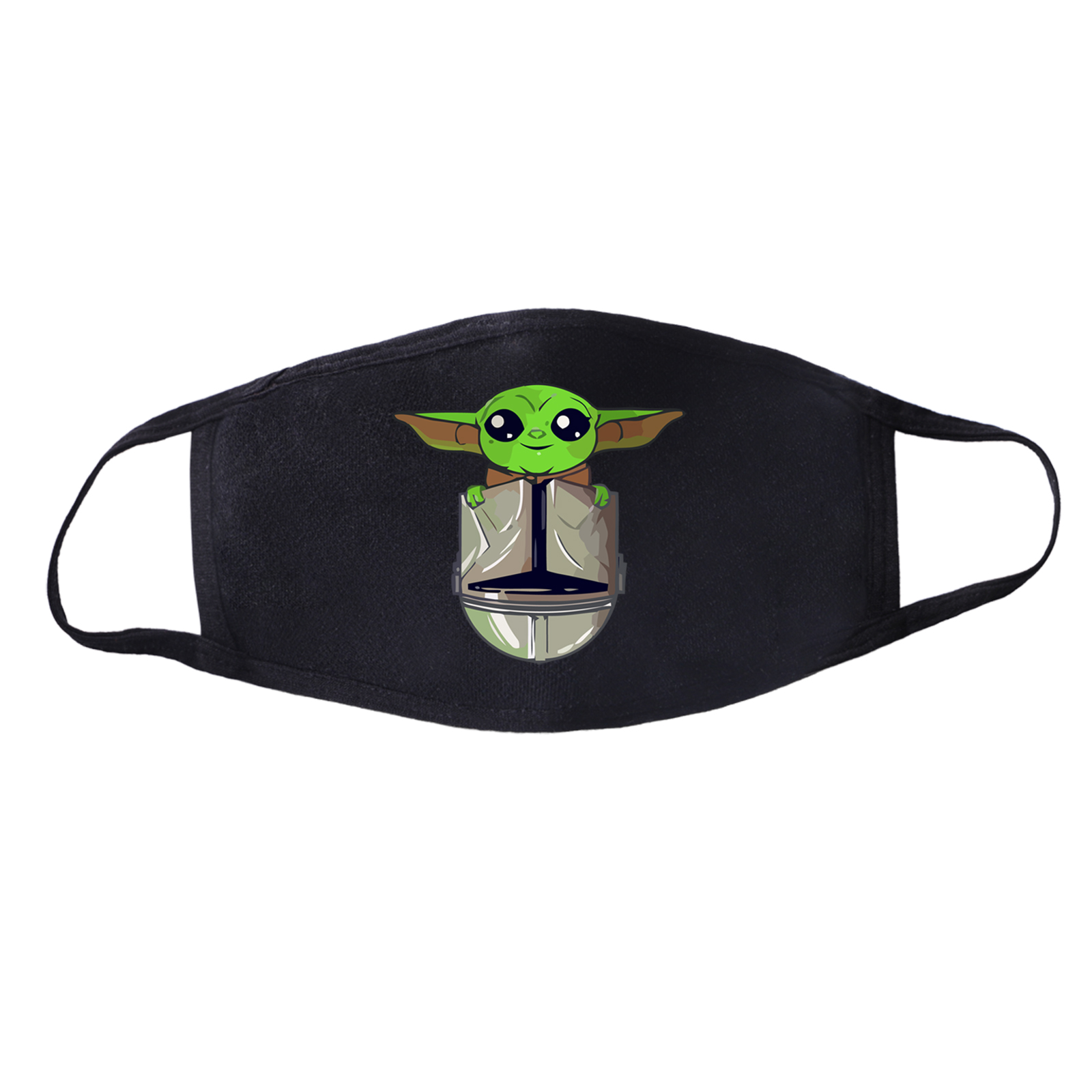 Fashion Star Wars Masks The Mandalorian Masks Respirator Men Funny Baby Yoda No Coffee No Workee Mask Cotton Dust Black Masks