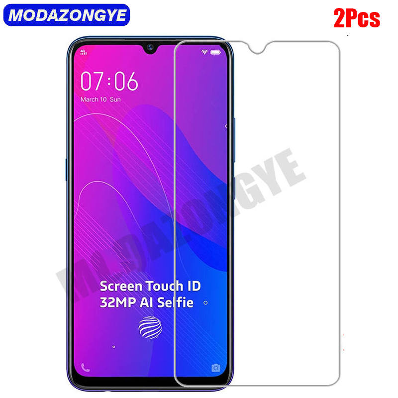 2 Pcs Tempered Glass VIVO V17 Neo Screen Protector VIVO V17 Neo V 17 V17Neo Tempered Glass VIVO V17 Neo Protective Film-in Phone Screen Protectors from Cellphones & Telecommunications