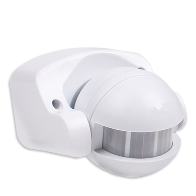 AC 220V-240V 110V 180 Degree Outdoor IP44 Security PIR Infrared Motion Sensor Detector Movement Switch Max 12m 50Hz 3-2000LUX