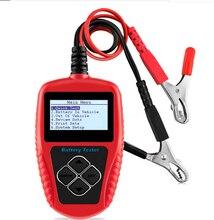 BA101 Car Diagnostic Tool Battery Tester 12V Digital Analyzer 2000CCA 220AH Multi Languages Automotive Battery Scanner