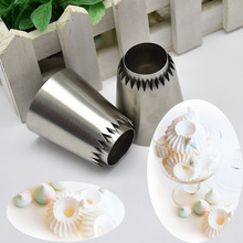 Sultan tube Russian Pastry Tip Icing Piping Stainlessl Steel Nozzles Large Cupcake baking accessories