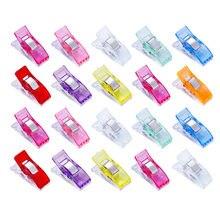 Jiwuo 20 шт чехол для ног job разноцветные пластиковые зажимы