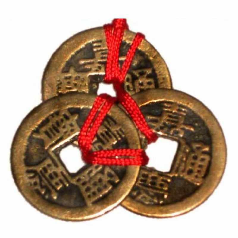 จีน Feng Shui เหรียญสำหรับความมั่งคั่งและความสำเร็จ Lucky Oriental จักรพรรดิ Qing เงินรถตกแต่งบ้าน