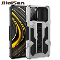 JKaiSen-funda protectora a prueba de golpes para Xiaomi POCO M3, soporte fuerte anticaída, funda de teléfono para Xiaomi, POCO X3, NFC