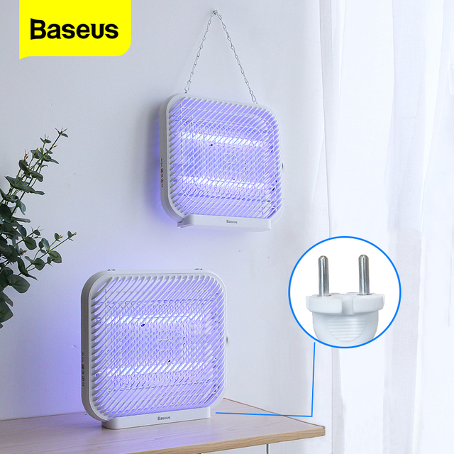 BASEUS UV USB Light Mosquito Killer Electric Mosquito Killer Lamp Photocatalysis Mute Home LED Zapper Insect Trap Radiationless