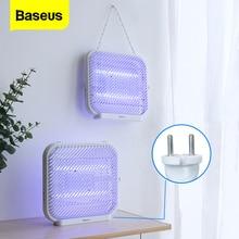BASEUS UV USB אור יתושים רוצח יתושים חשמליים מנורת רוצח Photocatalysis אילם בית LED קוטל חרקים מלכודת Radiationless