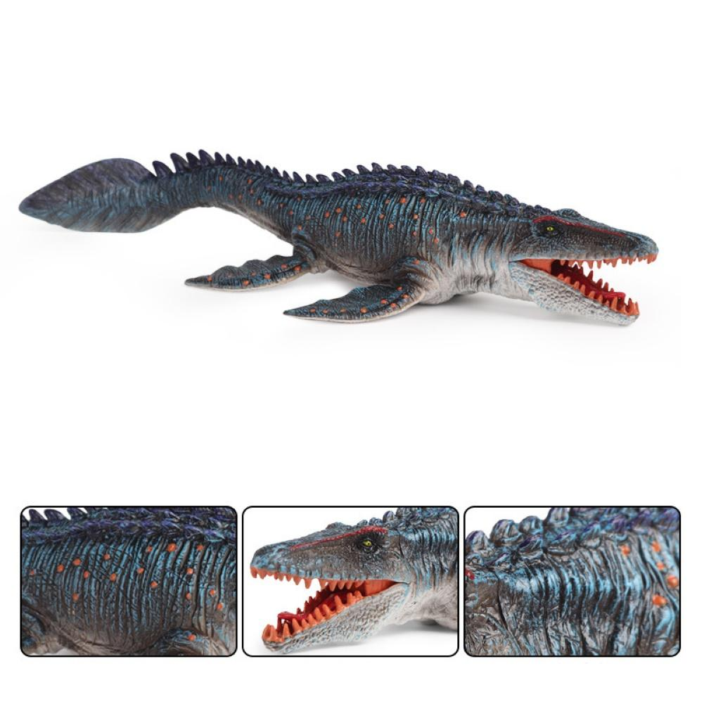 Kids Simulation Mosasaur Dinosaur Sea Animal Model Collectible Toy Home Decor
