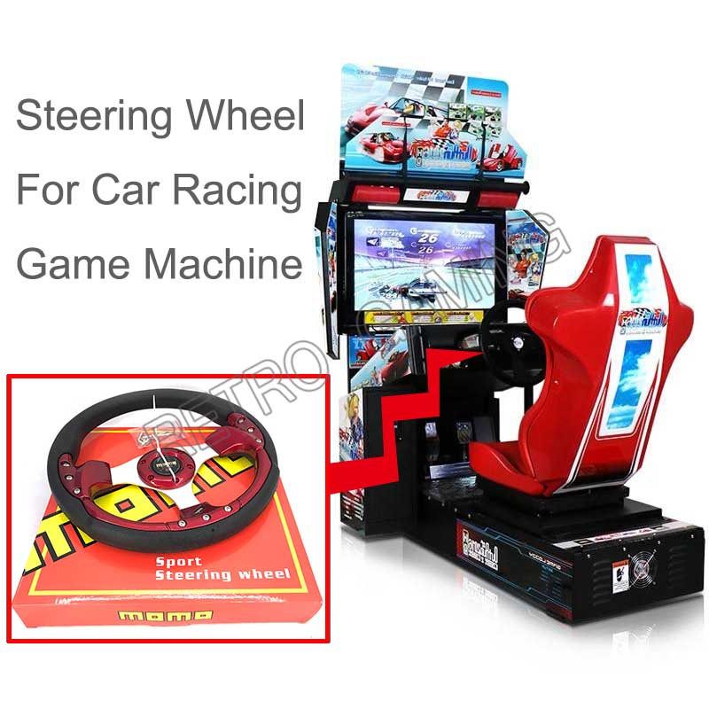 New Steering Wheel Spare Parts Replacement For Outrun Car Racing Driving Arcade Coin Operated Video Game Kit Diy Coin Operated Games Aliexpress