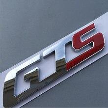 GTS Q4 SQ4 Emblem Badge for Maserati Quattroporte Ghibli Levante Trunk Sticker Car Styling Refitting Tail Logo