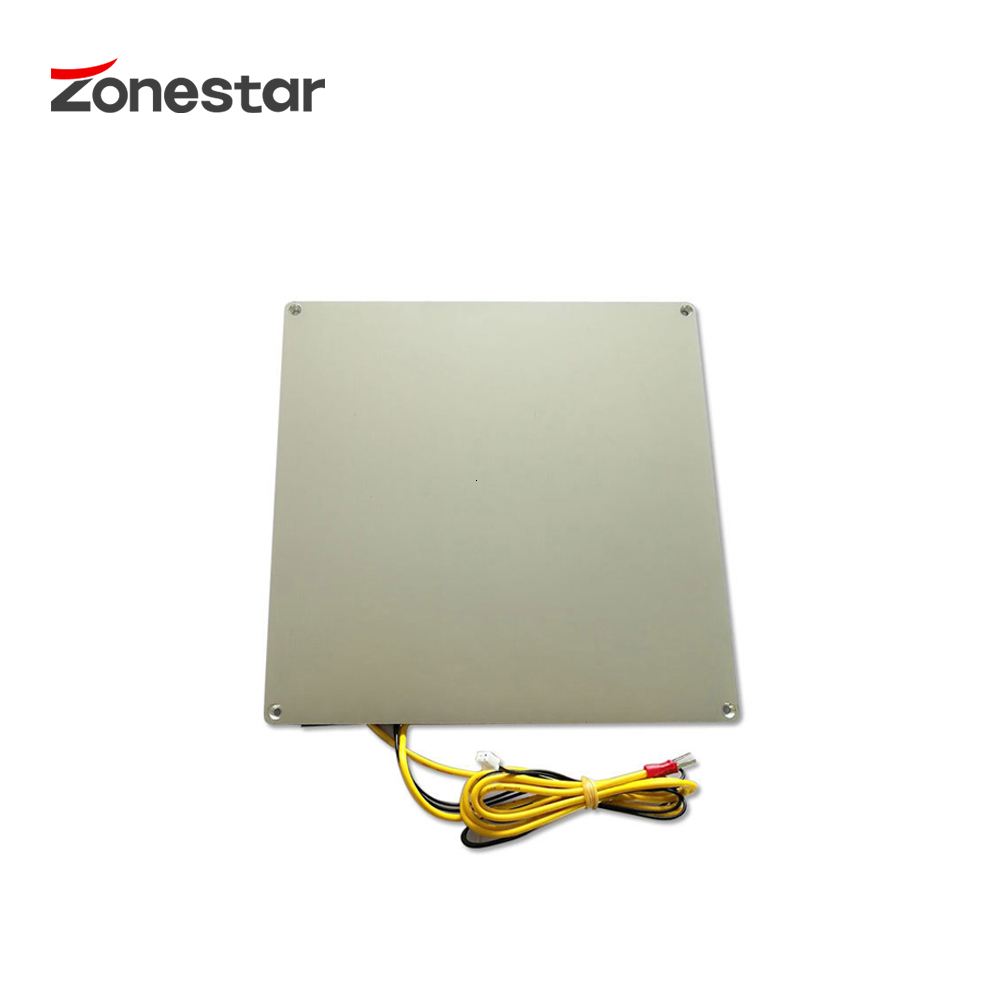 ZONESTAR Aluminium Base Heatbed Print Platform MK3 12V RepRap 3D Printer Hotbed 220*220 150*150 310*310 3mm Thickness With Cable